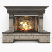 """Fireplace """"Country"""""""