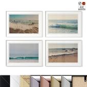 "Poster Set ""Sea Waves"""