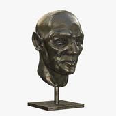 Sculpture - male head
