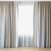 Curtains 56 | Curtains with tulle