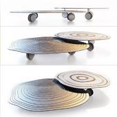 Saba Silver Ring Coffee Table