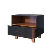 Тумба Cosgrove 1 Drawer Nightstand Black