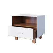 Тумба Cosgrove 1 Drawer Nightstand White