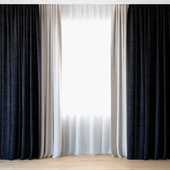 Curtains 57 | Curtains with tulle