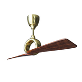 Ceiling Fan Link Ceiling Fan by Kichler brass cherry