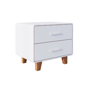 Тумба Juniper 2 Drawer Nightstand White