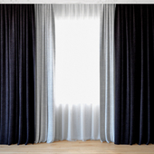 Curtains 58 | Curtains with tulle