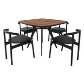 Lars table, Unika Hans Chair
