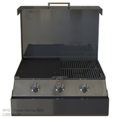 MYQ - Space Saving BBQ | ILBBQ643X