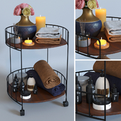 Декоративный набор для ванной 6