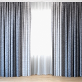 Curtains 61 | Curtains with tulle