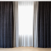 Curtains 65 | Curtains with tulle
