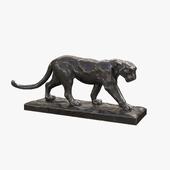"Sculpture ""Walking Leopard"""