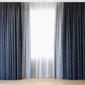 Curtains 66 | Curtains with Tulle | Backhausen