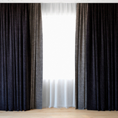 Curtains 67 | Curtains with Tulle | Backhausen