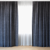 Curtains 68 | Curtains with Tulle | Backhausen