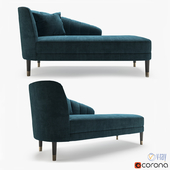 The sofa and chair company Theron Chaise