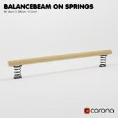 """KOMPAN. """"Log-balancer on the springs"""""""