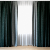 Curtains 74   Curtains with Tulle   CAMIRA