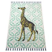 Thomas Paul Printed Gallant Giraffe Tassel 200TATP09A-P