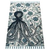 Thomas Paul Printed Flatweave Giant Octopus 200TATP03A-P