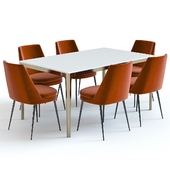 West Elm Canto Table and Chairs