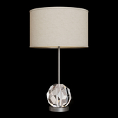 Restoration Hardware BOULE DE CRISTAL TABLE LAMP Black