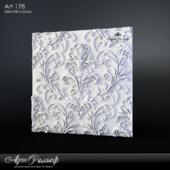 Gypsum 3d Art-178 panel from ArtRelief