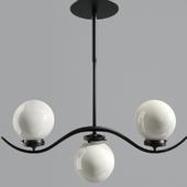 Glass Ceiling Lamp Shades Chrome Ball Shade Lights 02