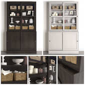 Wardrobe Havsta / Havsta with sliding doors