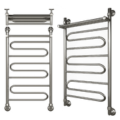 Heated towel rail of Nick Curve LZ VP