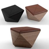 Pouf_hexagon storage ottoman
