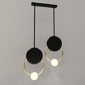 Gold Ring Ceiling Light