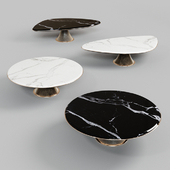 Gehry Coffee tables by LONGHI
