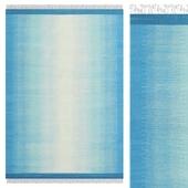 Carpet CarpetVista Ikat Blue Turquoise CVD17507