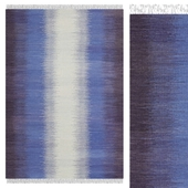 Carpet CarpetVista Ikat Dark Blue CVD17498