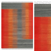 Carpet CarpetVista Ikat Red Grey CVD17525