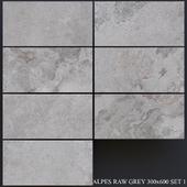 ABK Alpes Raw Gray 300x600 Set 1