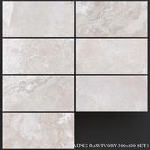 ABK Alpes Raw Ivory 300x600 Set 1