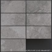 ABK Alpes Raw Lead 300x600 Set 1