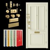 Дверь входная / Цепочка дверная / Дверной запор