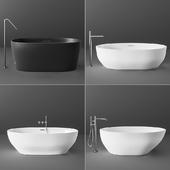 Blu Bathworks blu-stone Bathtab