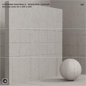 Material (seamless) - plaster, concrete, panel set 95