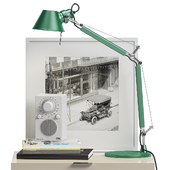 Decor Set for nightstand