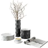 Table Decor Set with Joker Vases by B&B Italia