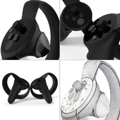 Animated Oculus Motion Controllers