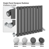 Single Panel Radiator - Milano Alpha Radiator