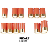 """A series of spots """"Coral"""" by Pikartlights"""