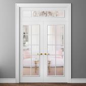 Doors Volkhovets Paris 8101 and 8102 double doors