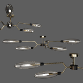 Maytoni: Ceiling Lamp - Ventura (MOD012-CL-06-G)